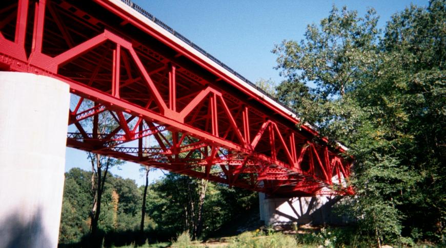 Refurbished Bridge Superstructure / Trusses