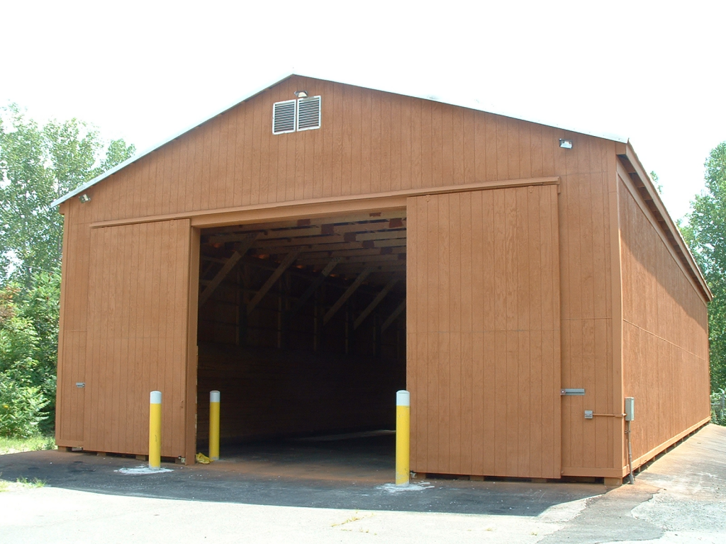 Huntington (3800sf - 1150 Tons Storage)  sc 1 st  Bayside Engineering & Salt Storage Buildings | Bayside Engineering