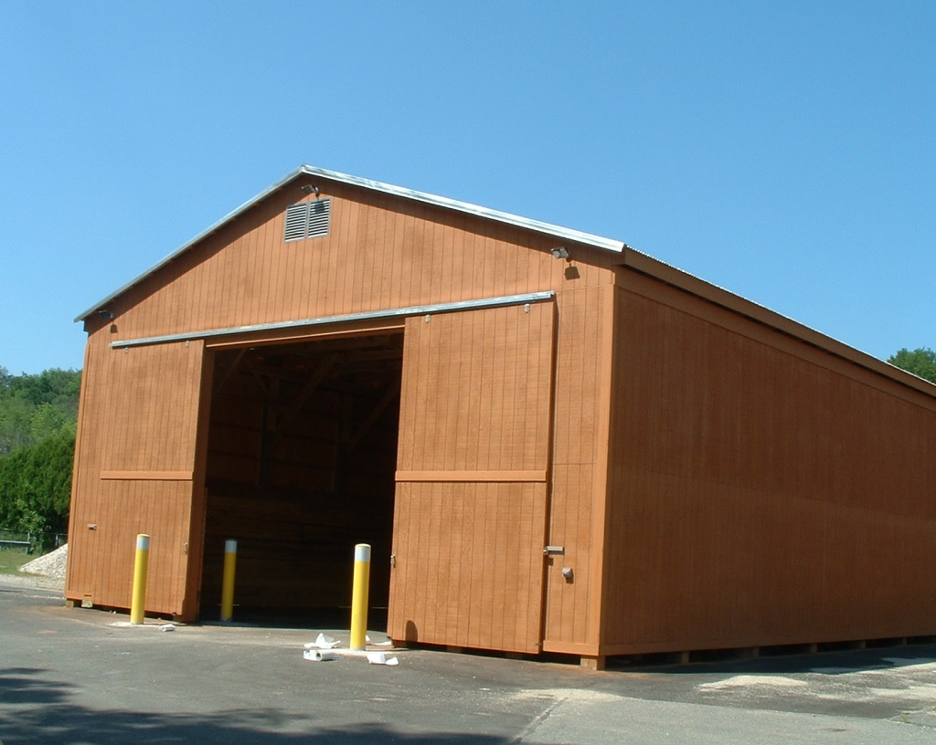 Pittsfield (3800 S.F. u2013 1150 Tons Storage) & Salt Storage Buildings | Bayside Engineering